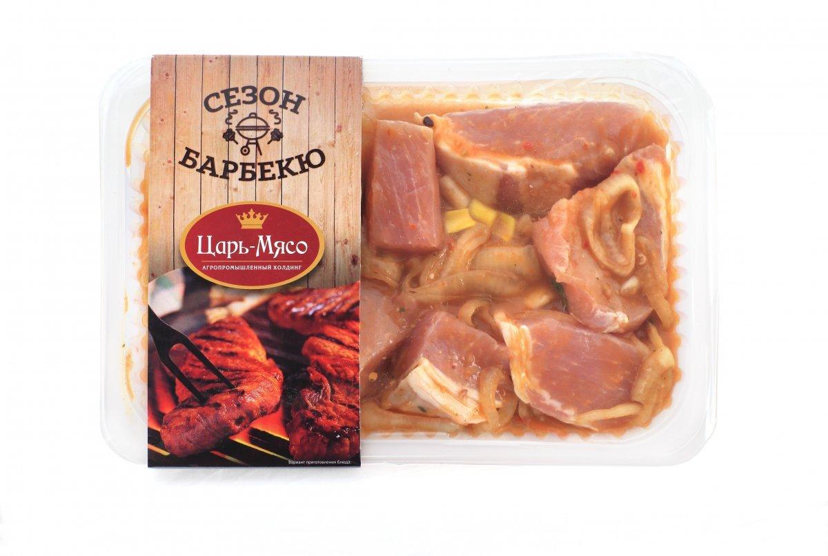 Шашлык из свинины в маринаде барбекю
